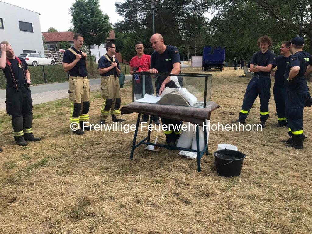Brandschutzbereitschaftsübung