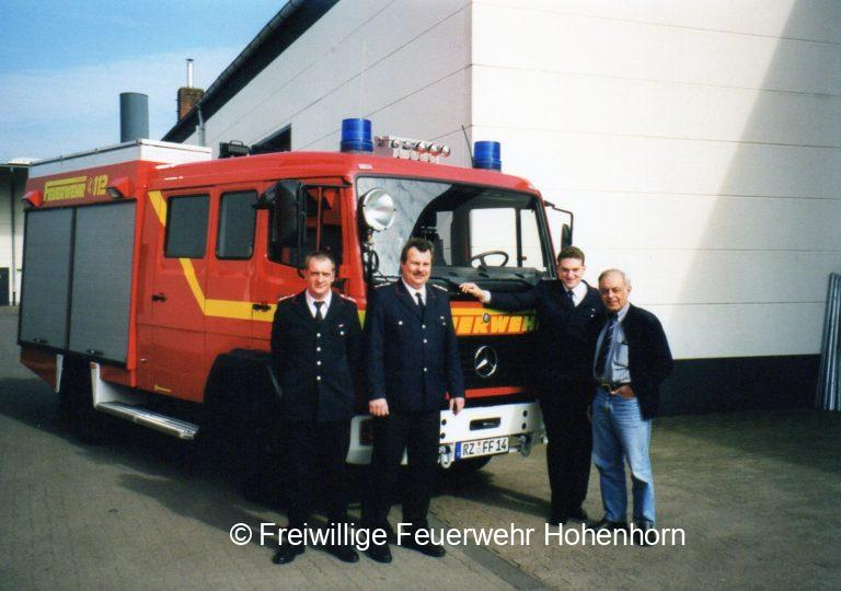 Neues Löschgruppenfahrzeug 2000