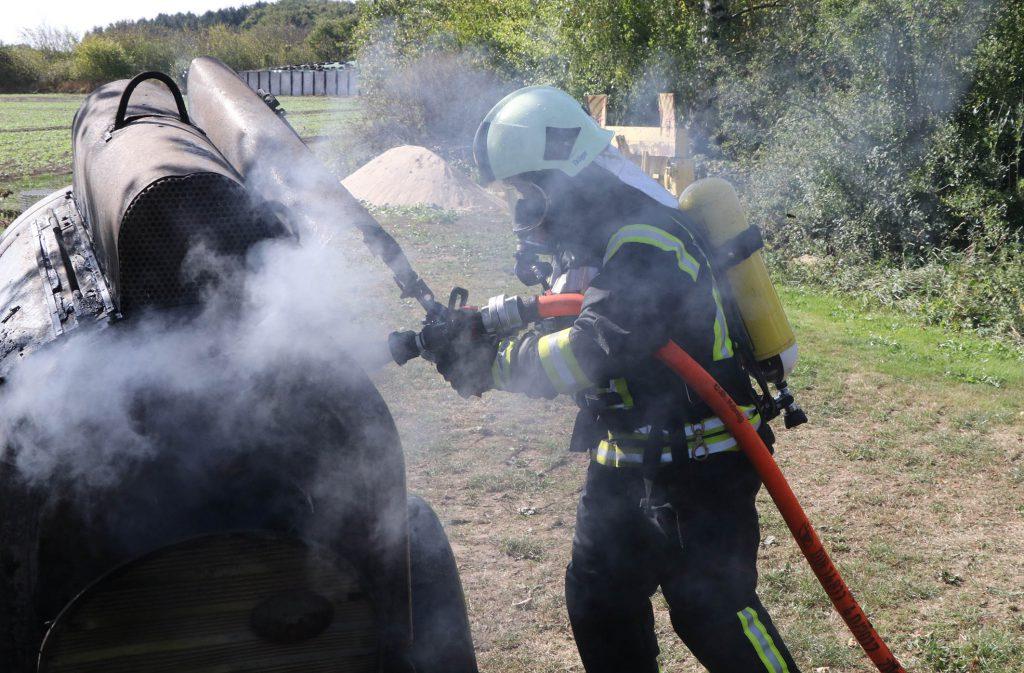 Scheunenbrand Fahrendorf ©Timo Jann/Lauenburgerische Landeszeitung